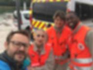 sécurité médecin croix rouge semi-marathon et 10km Mâcon