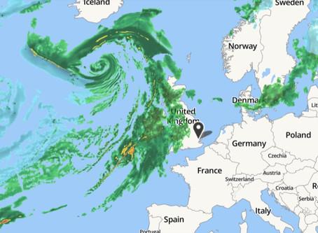 Y se viene la nueva tormenta Dennis a UK