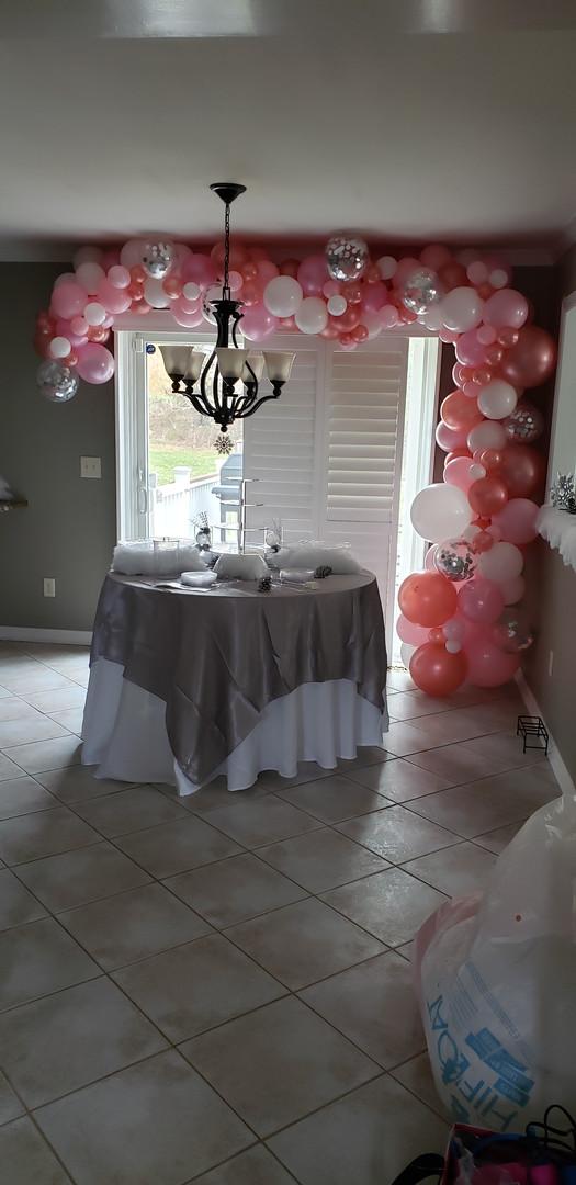 Pinks & White