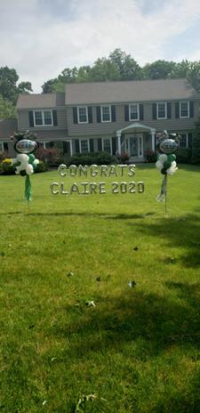 Congrats Claire!