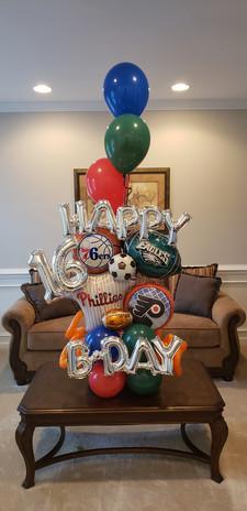 Happy 16th Birthday - Sports