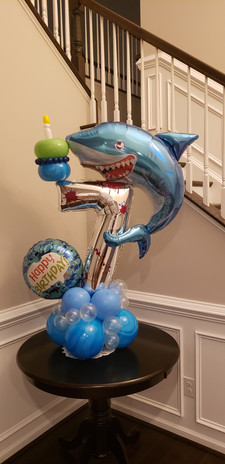 7th Birthday - Shark