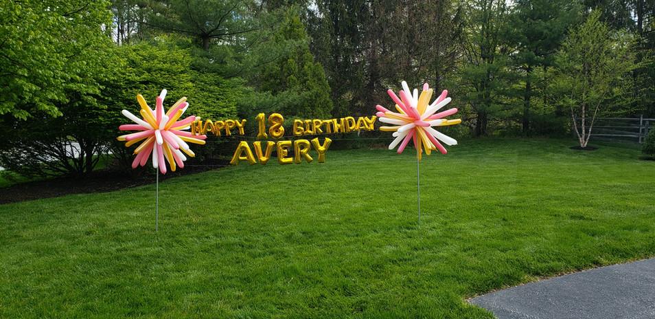 Happy Birthday Avery!