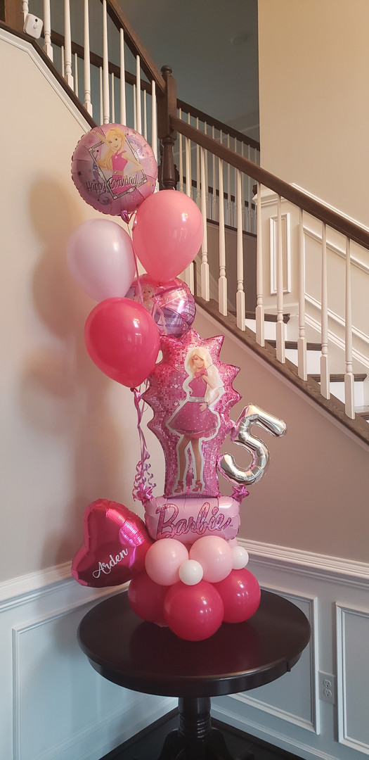 5th Birthday - Barbie
