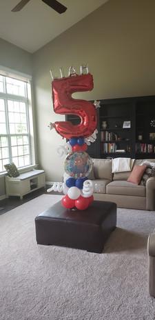 5th Birthday - Spiderman