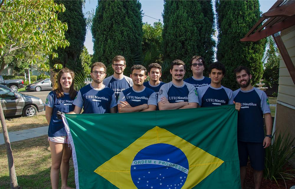 Equipe UFRJ Nautilus na RoboSub de 2019