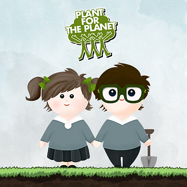 Plant for the Planet - Zwei Kinder.png