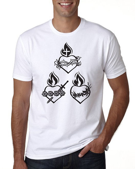 Hearts of the Holy Family Shirt