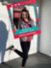 Ohio Loves Transit Selfie Board