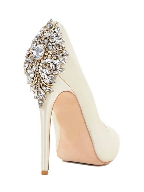 Peep Toe Luxury Bride