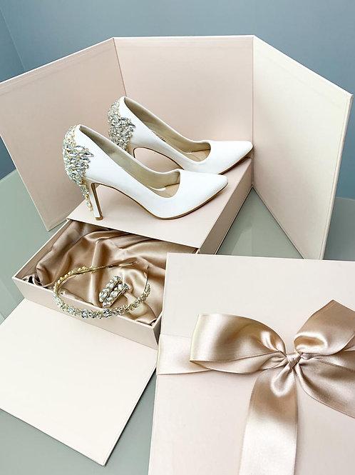 Scarpin  Brilho Total (Bride) Kit Perfect