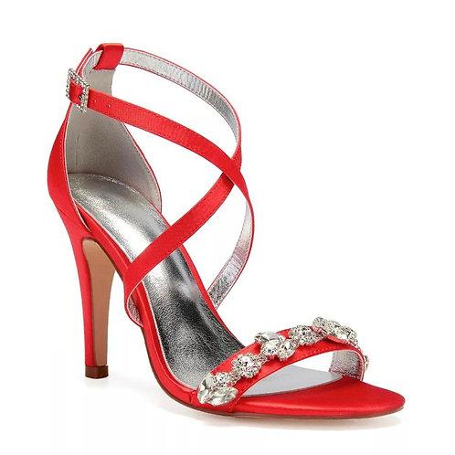 Sandália Luxury Flores - Tiras