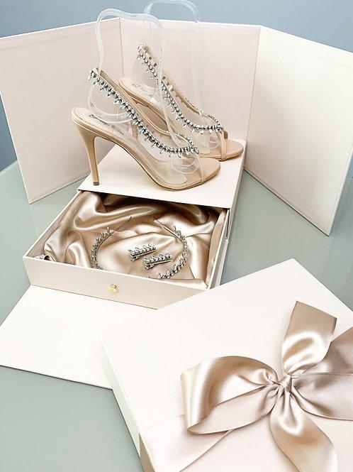 Sandália Cinderella Kit Perfect