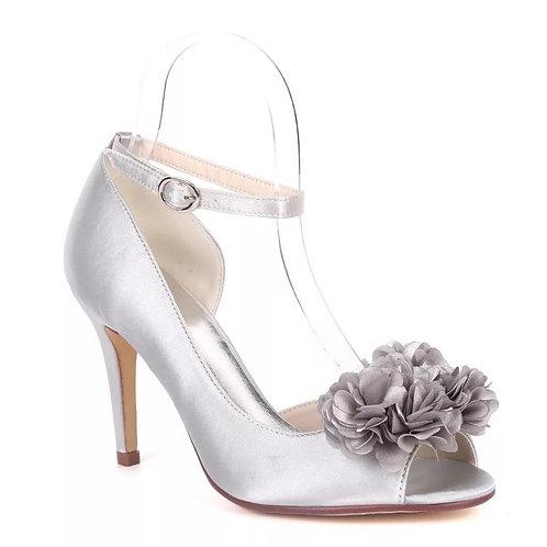 Peep Toe Slim Flower