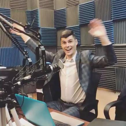 Last Friday at #radiorusrek 👋 And tonig