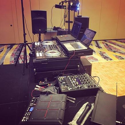 Set up #djvitolee #nye2017