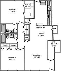 Delta residence La Porte Texas 2 bedrooms 2 bathroom