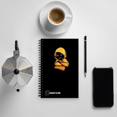 Spiral notebook - Yellow Dude