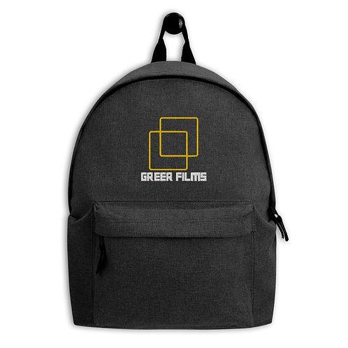 Embroidered Backpack - Greer Films