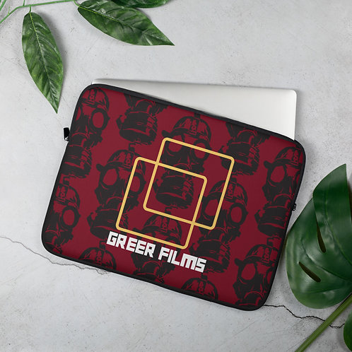 Laptop Sleeve _RED Gas Mask