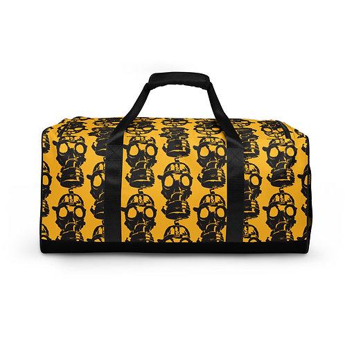 Duffle bag- Yellow, Gas Mask