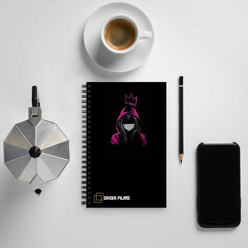 Spiral notebook - Pink Girl