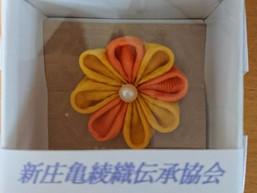 ぐっと山形(山形県観光物産会館)にて『新庄亀綾織』のPRと販売を行います。