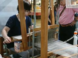 「ぐっと山形」(山形県観光物産会館)にて、『新庄亀綾織』をPRさせていただきました。