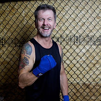 Mike Gardnier boxing at the age of 58 years old!