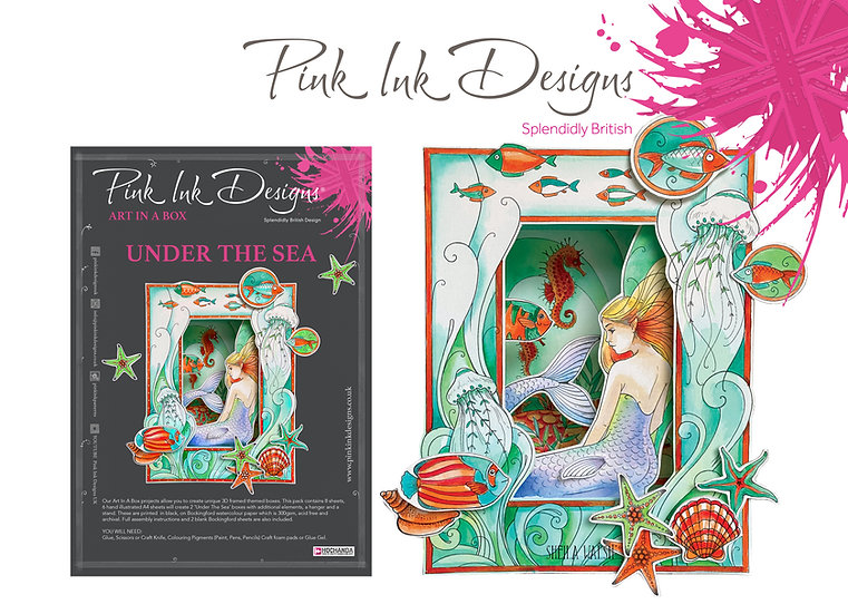 Pink Ink Designs Project Pack - Art In A Box - Under The Sea