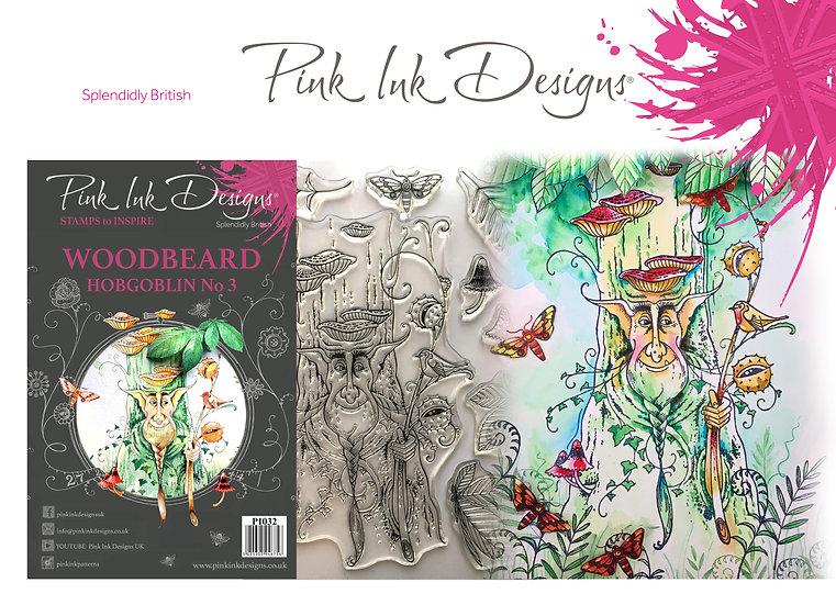 Pink Ink Designs Stamp - Tree Goblin Woodbeard - Plus Bonus Paper