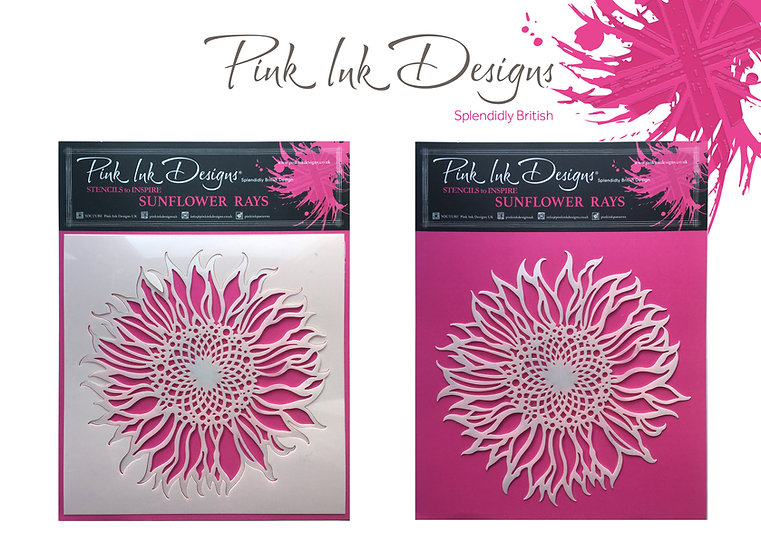 Pink Ink Designs Stencil - Sunflower