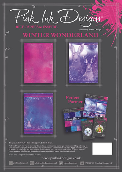 Pink Ink Designs Rice Paper - Winter Wonderland