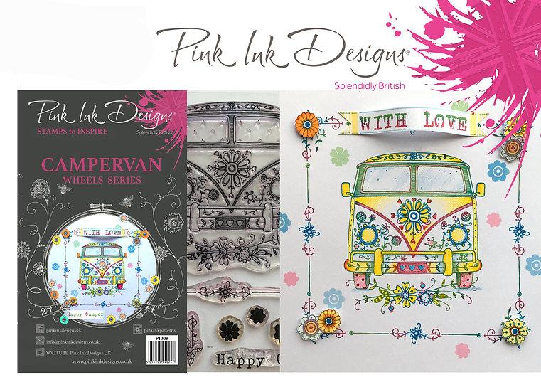 Pink Ink Designs Stamp - Camper Van