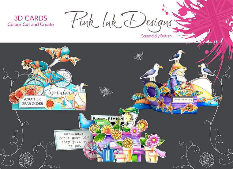 Pink Ink Designs Project Pack - 3D Cards