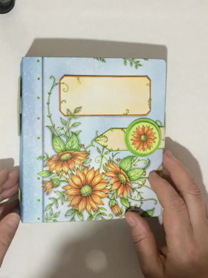 Take a peek inside this beautiful completed journal