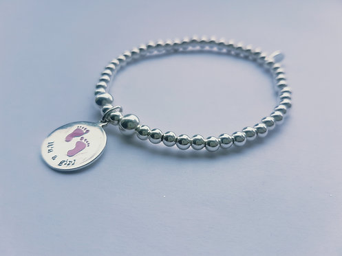 'Its a girl' or 'Its a boy' Bracelet