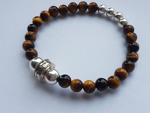 Tiger eye Peace Bracelet