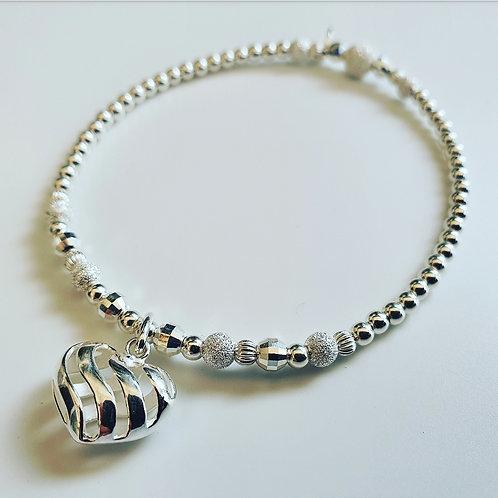 Swirl heart sparkle