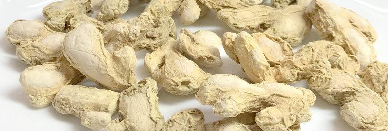 Dried Raw Ginger Rhizomes