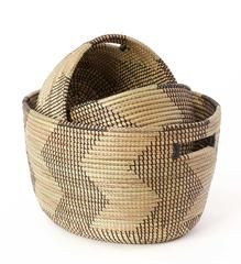 Black and Gold Nesting Baskets