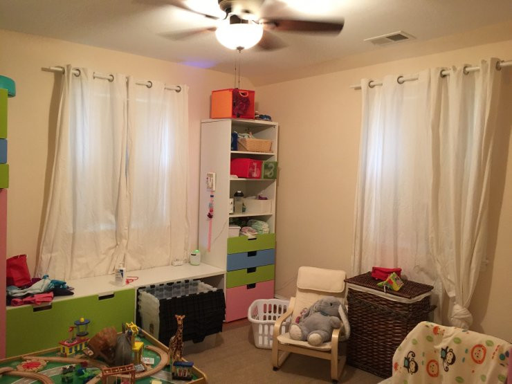 Toddler Room Before 2