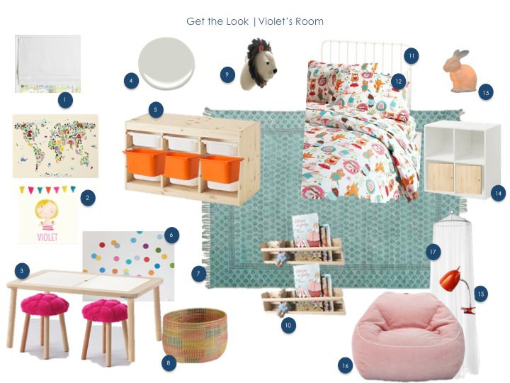 Toddler Room Get the Look