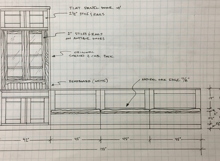 SOLVING STORAGE PROBLEMS IN A ROW HOUSE DINING ROOM