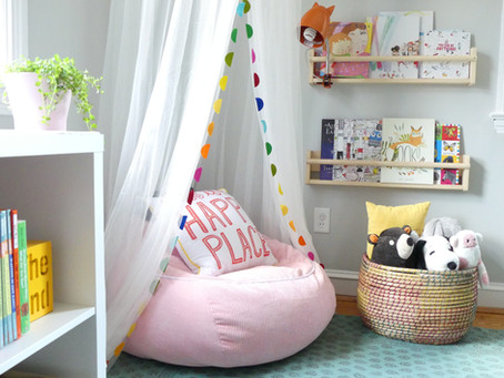 TODDLER'S WHIMSICAL SCANDINAVIAN BEDROOM DESIGN