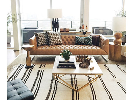 FINDING THE PERFECT RUG FOR YOUR AWKWARD ROW HOUSE LAYOUT