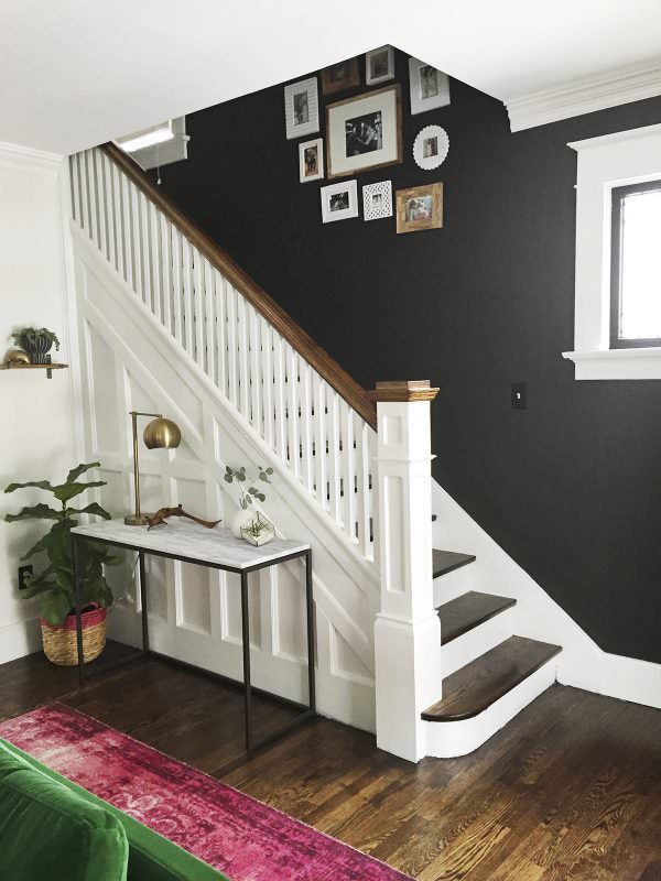 Entry way and staircase