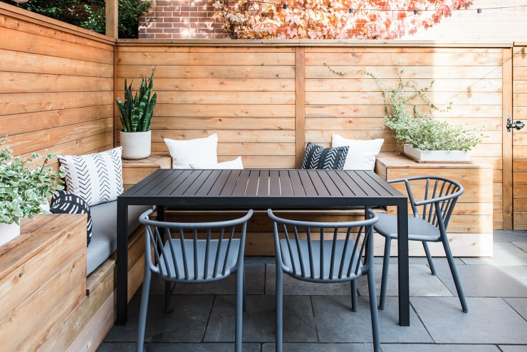 Washington DC Small Patio renovation Capitol Hill