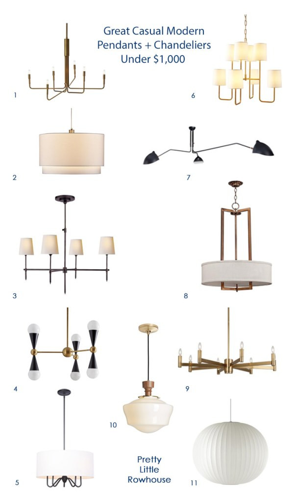 Laid back light fixtures round up