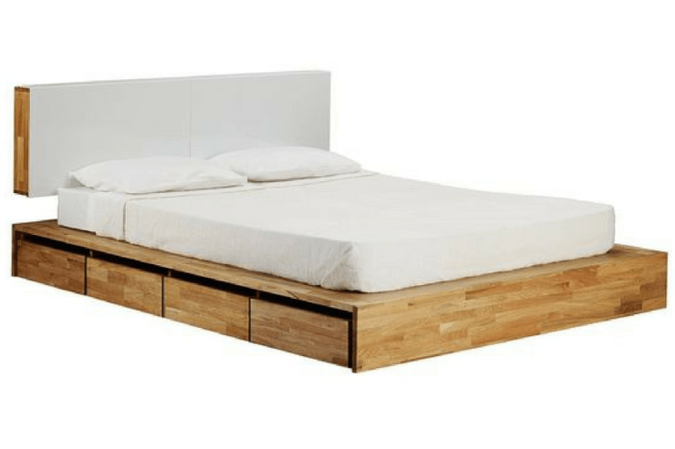 Mash Studios LAX Drawer Storage Platform Bed via All Modern -- Sanabria & Co. loves this platform bed storage solution.